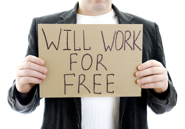 Would you work for free?